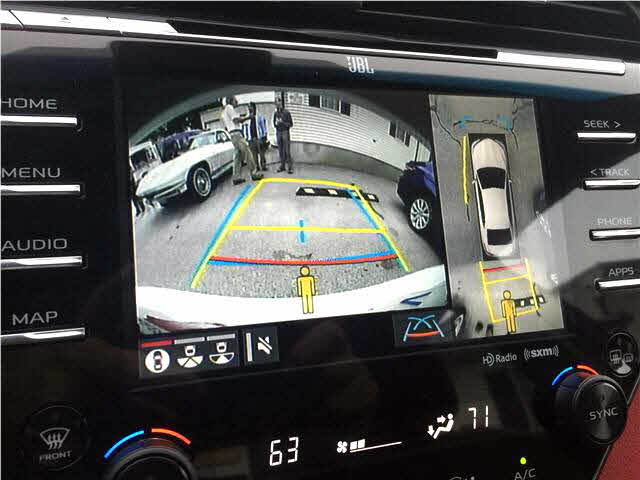 2018 Toyota Camry دوربین عقب تویوتا کمری